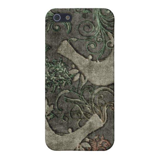 Vintage LoveBirds Embossed Print SpeckCase iPhone4 iPhone SE/5/5s Case