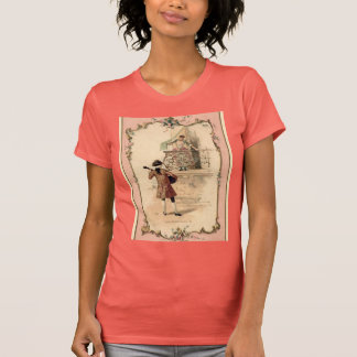 Vintage Lovers Illustration Shirts