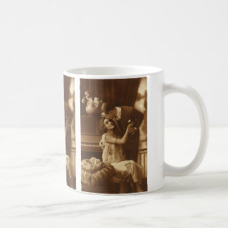 Vintage Lovers,  Love Romance Romantic Music Coffee Mug