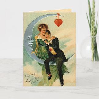 Vintage Lover's Valentine's Day Card