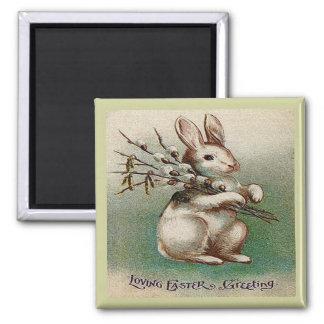 Vintage Loving Easter Greeting Magnet
