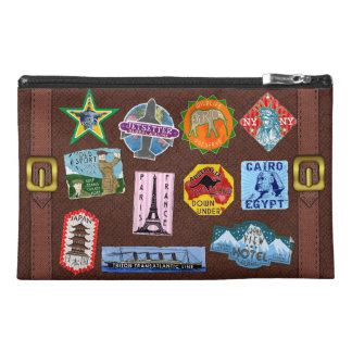Vintage Luggage World Travel Suitcase Stickers Travel Accessory Bags