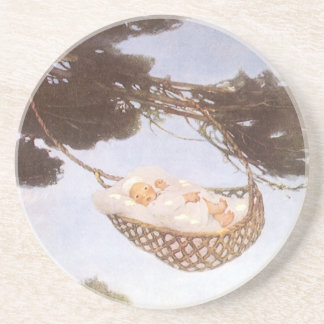 Vintage Lullaby, Rock Bye Baby Jesse Willcox Smith Coaster
