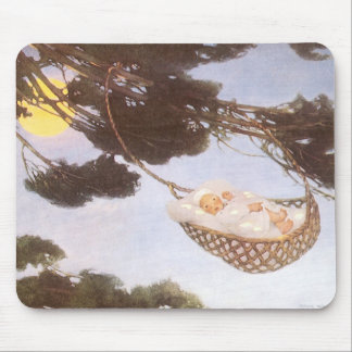 Vintage Lullaby, Rock Bye Baby Jesse Willcox Smith Mouse Pad