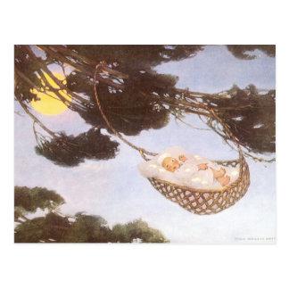 Vintage Lullaby, Rock Bye Baby Jesse Willcox Smith Postcard
