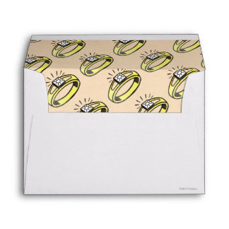 Vintage Luxury Tax Envelope