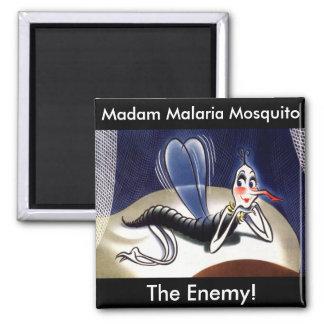 Vintage Madam Malaria Mosquito Magnet