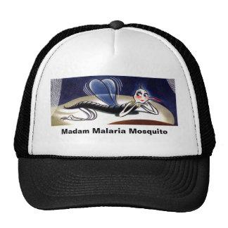 Vintage Madam Malaria Mosquito Trucker Hat. Trucker Hat