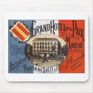 Vintage Madrid Mouse Pads