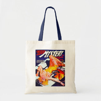VINTAGE MAGAZINE COVER Budget Tote