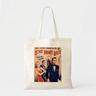 Vintage magazine tote bag