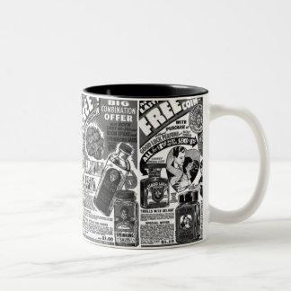 Vintage Magic Kitsch Lucky Mojo Ads Mug