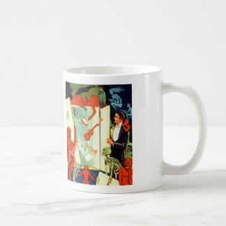 Vintage Magic Magician Demons and Devils Coffee Mug