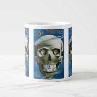 Vintage Magic Poster, De Biere the Mysterious Large Coffee Mug
