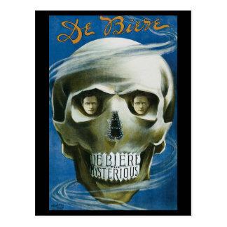 Vintage Magic Poster; de Biere the Mysterious Postcards