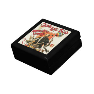 Vintage Magic Poster; Magician Chung Ling Soo Gift Box