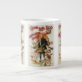 Vintage Magic Poster, Magician Chung Ling Soo Large Coffee Mug