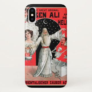 Vintage Magic Poster, the Great Original Ben Ali iPhone X Case