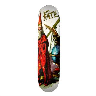 Vintage Magic Wizard Merlin Fate Litho Label Art Skate Board Deck