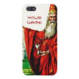 Vintage Magic Wizard School Merlin Fantasy World iPhone 5 Cases