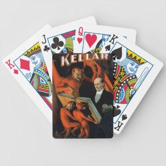 Vintage Magician Kellar Devil Cards