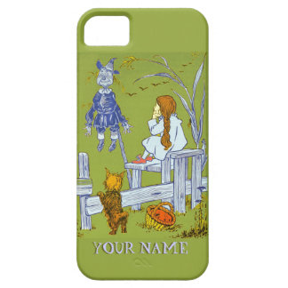 Vintage Magician of Oz, Dorothy / Toto Tale Gifts iPhone SE/5/5s Case