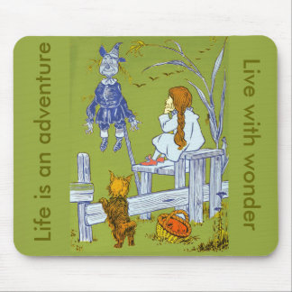 Vintage Magician of Oz, Dorothy / Toto Tale Gifts Mouse Pad