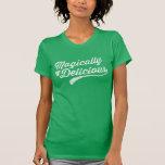 Vintage mágico delicioso camisetas