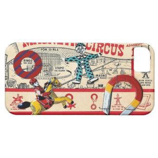 Vintage Magnetic Circus Clown Toy Art iPhone SE/5/5s Case