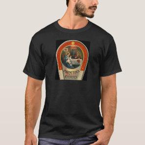 Vintage Magnetized Food Label GM GMO Foods T-Shirt