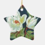 Vintage Magnolia Christmas Ornament
