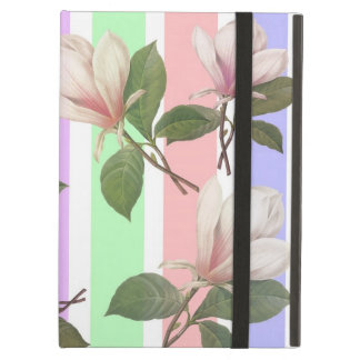 Vintage magnolia flower floral, soft pastel colo cover for iPad air