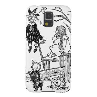 Vintage mago de Oz, espantapájaros de la reunión Carcasas Para Galaxy S5
