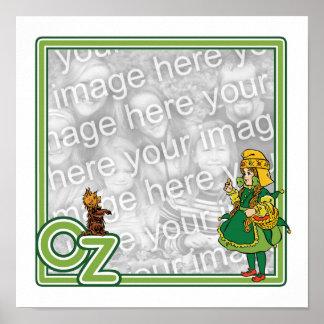 Vintage mago de Oz Frontera de Dorothy y de Toto