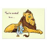 Vintage mago de Oz, león cobarde, Dorothy, Toto Anuncios Personalizados