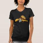 Vintage mago de Oz, león cobarde, Dorothy, Toto Camisetas