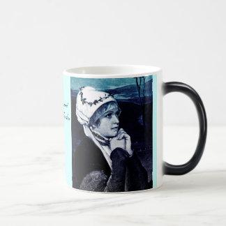 Vintage Maiden Morphing Mug
