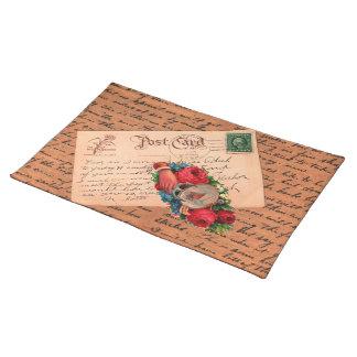 Vintage Mail Place Mat