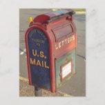 "Vintage Mailbox Postcard<br><div class=""desc"">Vintage Mailbox,  Old Town Manassas,  VA</div>"