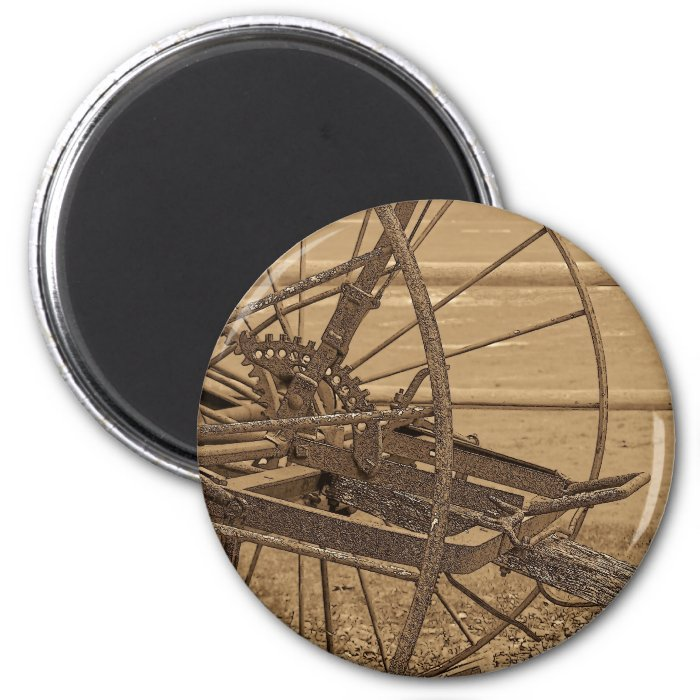 Vintage Maine 2 Inch Round Magnet