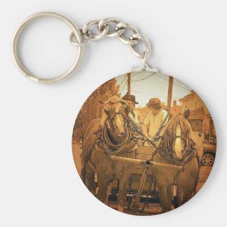 Vintage Maine Key Chain