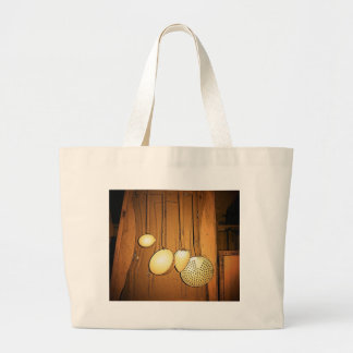 Vintage Maine Large Tote Bag