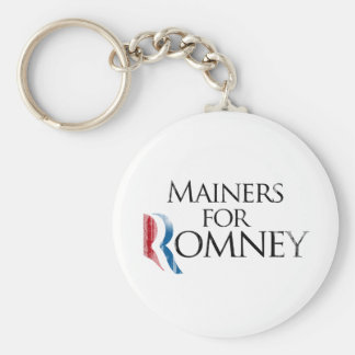 Vintage Mainers for Romney - png Key Chain