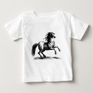 Vintage Majestic Horse Engraving Infant T-shirt