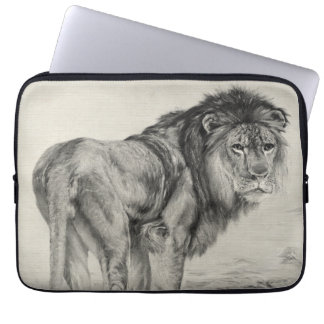 Vintage Majestic Lion Laptop Sleeve