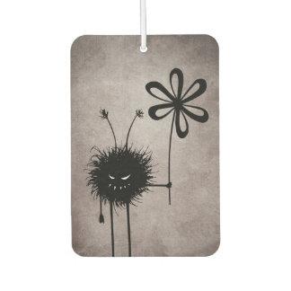 Vintage malvado del insecto de la flor