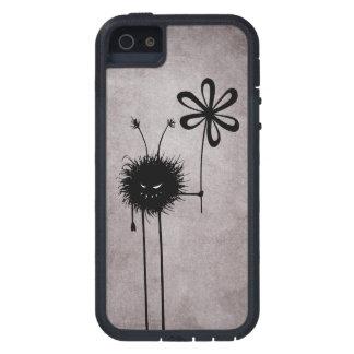 Vintage malvado del insecto de la flor extremadame iPhone 5 carcasas