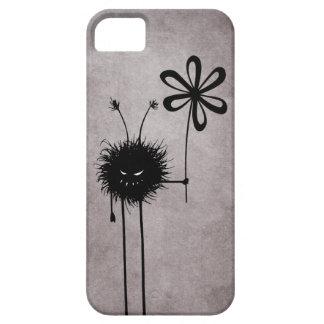 Vintage malvado del insecto de la flor iPhone 5 funda