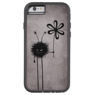 Vintage malvado del insecto de la flor protector funda de iPhone 6 tough xtreme