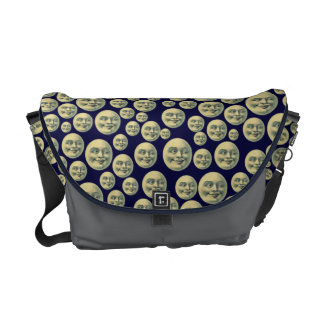 Vintage Man in the Moon Courier Bag
